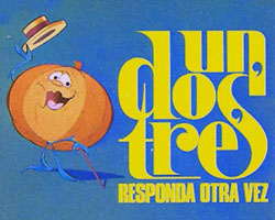 Un dos tres logo and Ruperta the Pumpkin.jpg