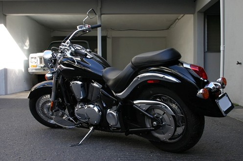 Kawasaki Mean Streak Tire Size