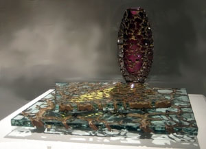 Michael Glancy American born glass artist and sculptor. Studied under Dale Chihuly at Rhode Island School of Design