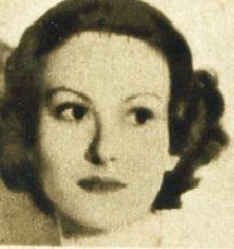A headshot of Cellier from 1938 edition of Film Star Who's Who on the Screen.