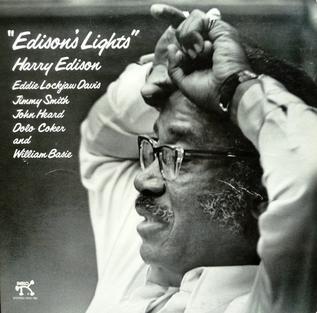 <i>Edisons Lights</i> 1976 studio album by Harry Edison