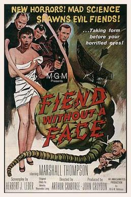 Fiend Without a Face (1958) movie poster
