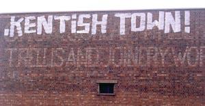 Kentish Town graffiti