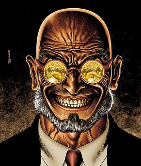 Hugo Strange by Brian Bolland