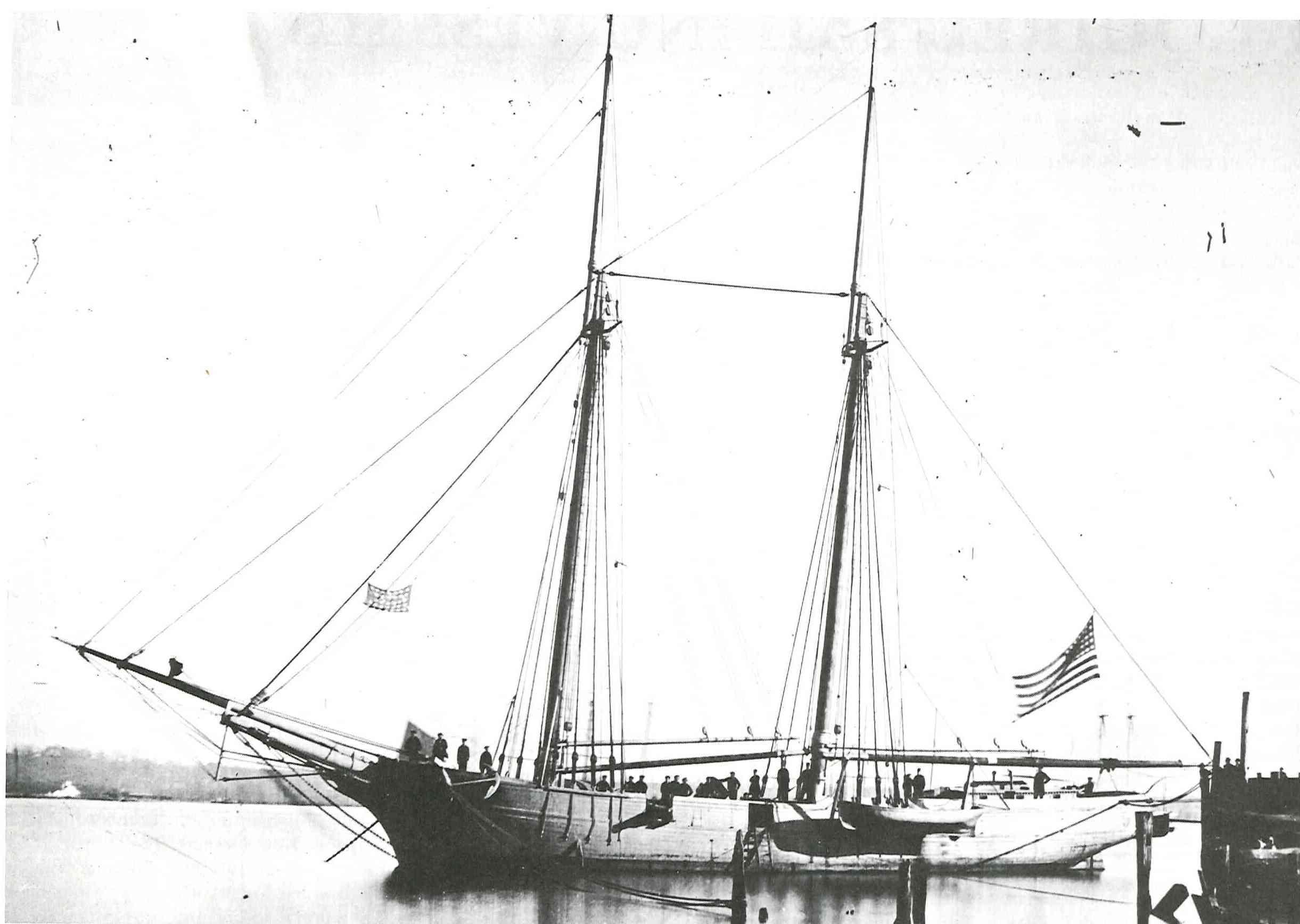 Mortars On Ships : Civil war navy sesquicentennial porter s mortar schooners