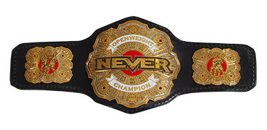 Image result for NEVER Openweight Championship""