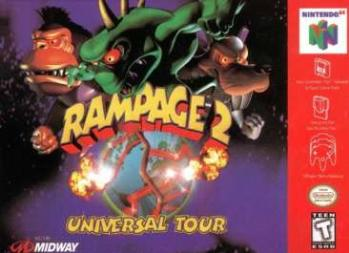 Rampage 2 Universal Tour Wikipedia