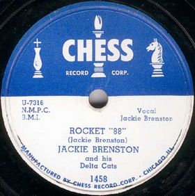 Rocket 88 Song first recorded by Jackie Brenston with Ike Turner in 1951