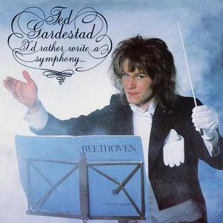 <i>Id Rather Write a Symphony</i> album by Ted Gärdestad