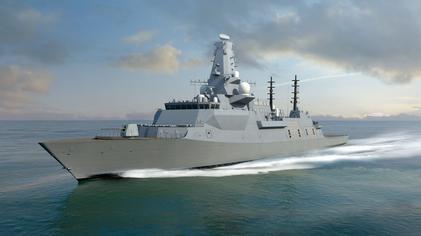 royal navy frigate t26 dieulois