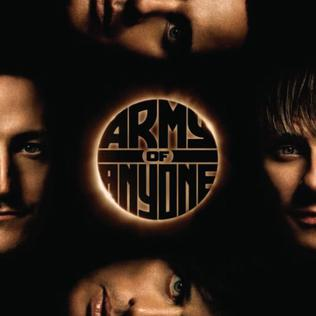 <i>Army of Anyone</i> (album) 2006 studio album by Army of Anyone