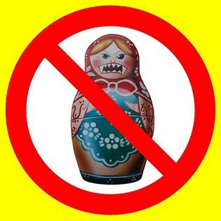 Do not buy Russian goods!