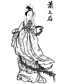 Xiao Yanyan Empress Dowager Chengtian of Liao