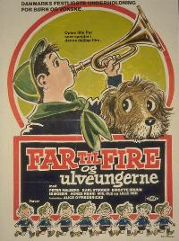 <i>Father of Four and the Wolf Cubs</i> 1958 film by Alice OFredericks