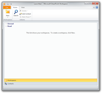 Microsoft SharePoint Workspace