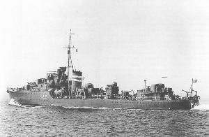 J級駆逐艦ジュノー(1939年撮影)