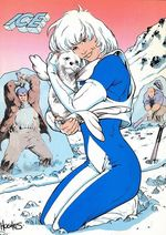 Ice (character) Fictional character, a comic book superhero in publications from DC Comics
