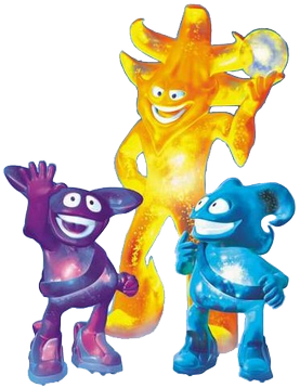 Ato, Kaz and Nik were the 2002 World Cup mascots. Koreajapan2002mascots.png