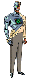 Metallo as he appeared in Superman: The Animat...