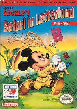 Mickey S Safari In Letterland Wikipedia