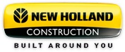 New Holland Construction logo.