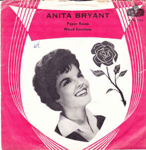Paper Roses 1960 single by Anita Bryant