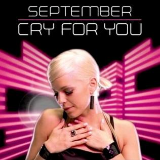 Titelbild des Gesangs Cry for You von September