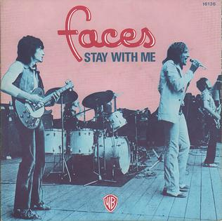 Stay with Me (Faces song) song by the band Faces