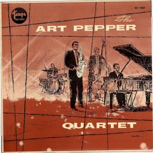 <i>The Art Pepper Quartet</i> 1957 studio album by Art Pepper