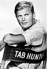 Tab Hunter in a promotional photograph for The Tab Hunter Show.