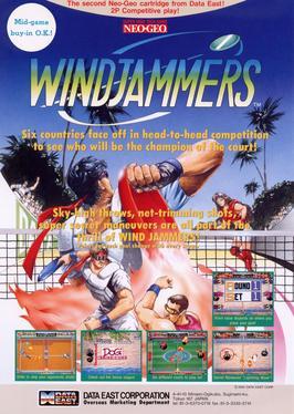 Windjammers Video Game Wikipedia