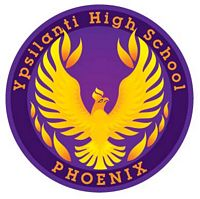 Ypsilanti High School Phoenix logo