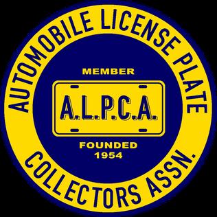 Automobile License Plate Collectors Association Organization of collectors