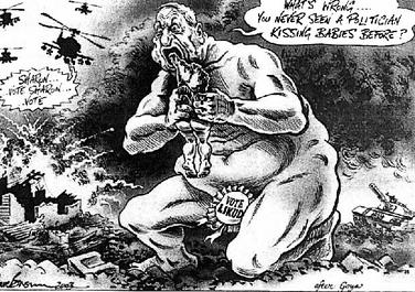 Image result for Ariel Sharon CARTOON
