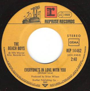 Everyones in Love with You 1976 song performed by The Beach Boys