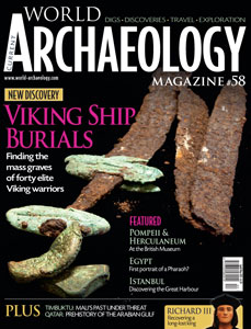 Current World Archaeology cover