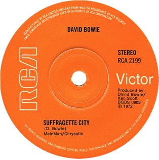 Suffragette City Song by David Bowie