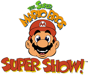 Super Mario Bros Super Show Title Screen