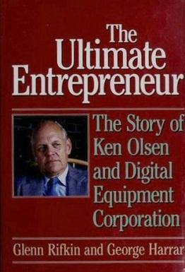 <i>The Ultimate Entrepreneur</i> book by Glenn Rifkin