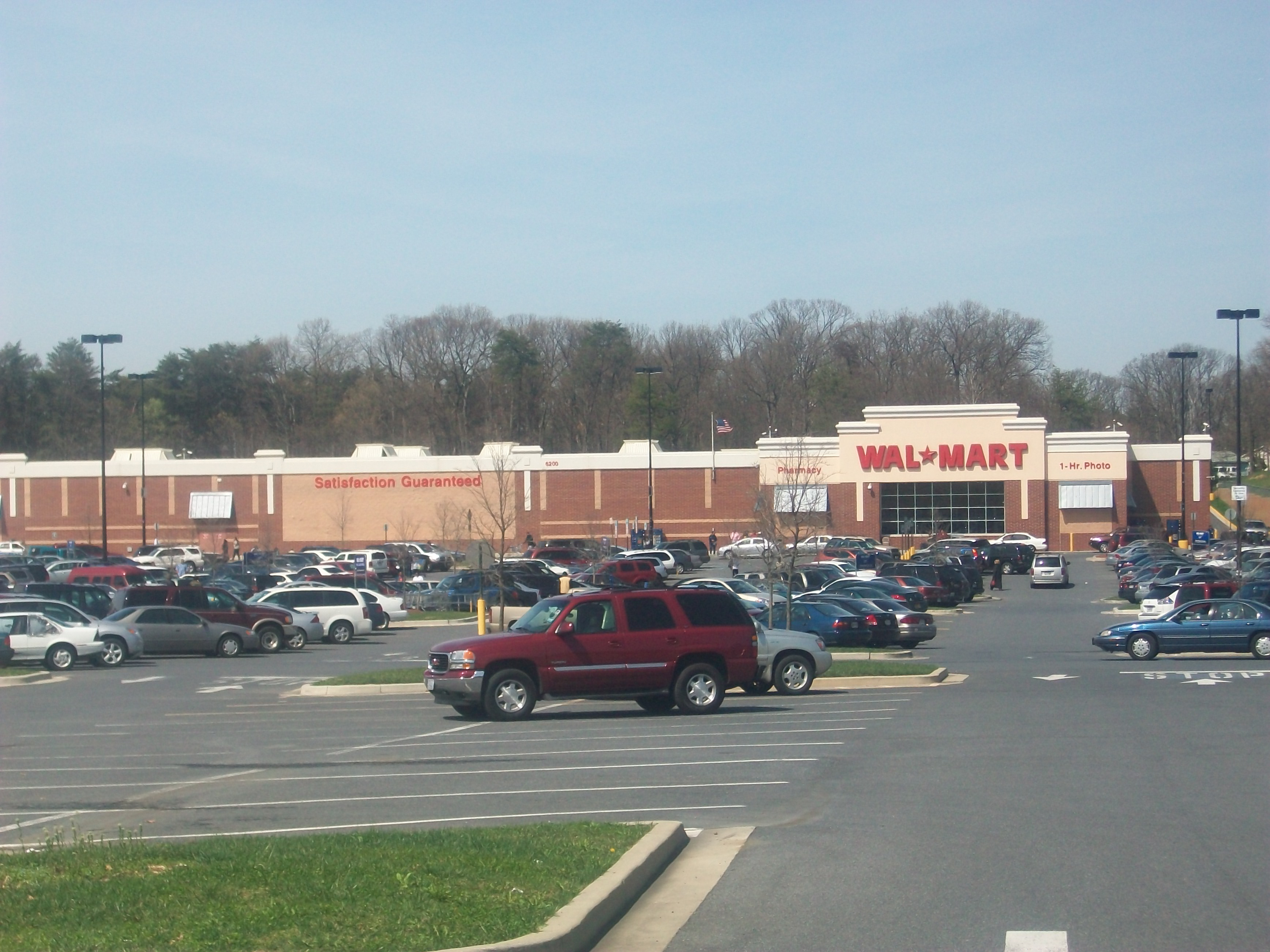 The Wal Mart Store That Was Built On Grounds Which Former Mall Once Stood