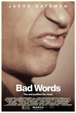 Movie release poster for Bad Words, courtesy Focus Features