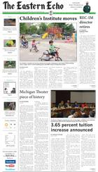 <i>The Eastern Echo</i> newspaper in Ypsilanti, Michigan
