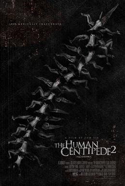 Risultati immagini per the human centipede 2 poster