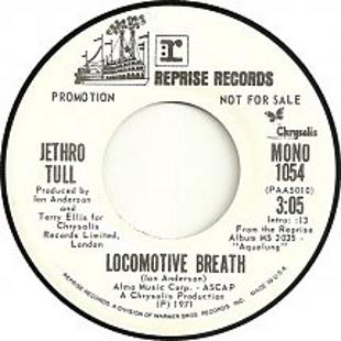 Locomotive Breath 1971 song performed by Jethro Tull