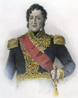 Louis Philippe I, King of the French, wearing the sash of the order