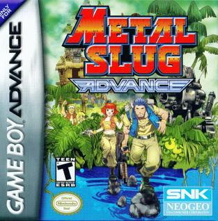 โหลดเกมส์ Metal Slug Advance .gba