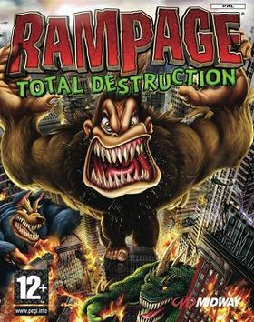 video game rampage monsters