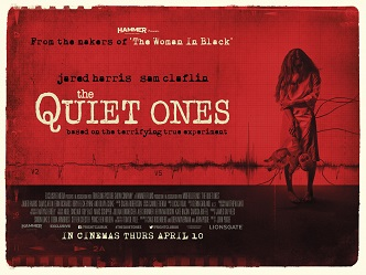 Poster for 2014 horror movie The Quiet Ones