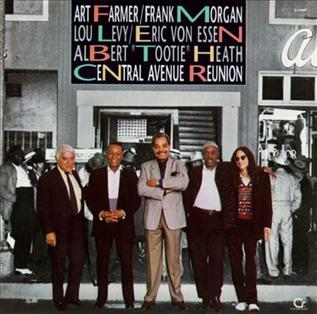 <i>Central Avenue Reunion</i> 1990 live album by Art Farmer & Frank Morgan