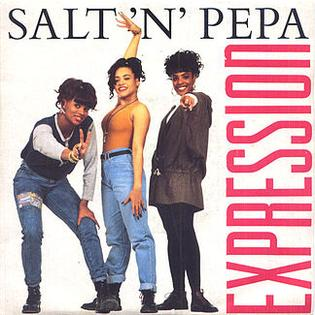 Expression (song) 1989 single by Salt-n-Pepa